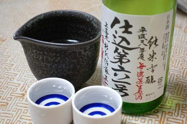 1 上喜元 純米吟醸無濾過生酒 (5)