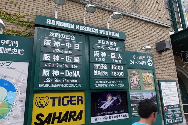 3 甲子園球場(阪神×巨人) (1)