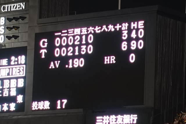 3 甲子園球場(阪神×巨人) (4)