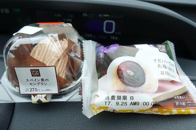 2 モンブラン&長野パープルの大福 (1)
