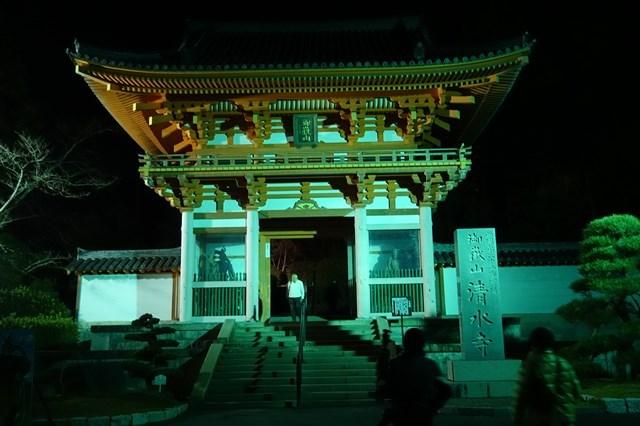 3 紅葉ライトアップ 播州清水寺 (1)