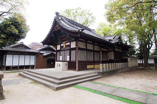 四番町神明社社殿