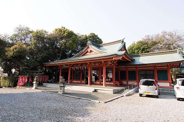 豊藤稲荷神社拝殿