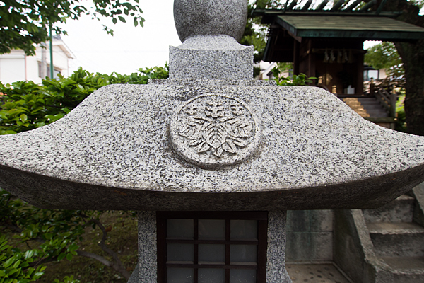 五反城神社紋