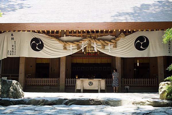 椿大神社拝殿