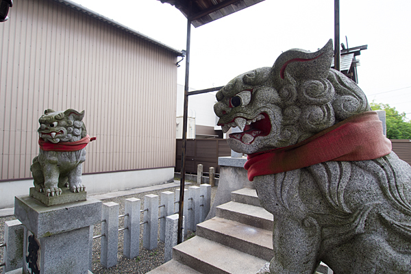 太神社狛犬