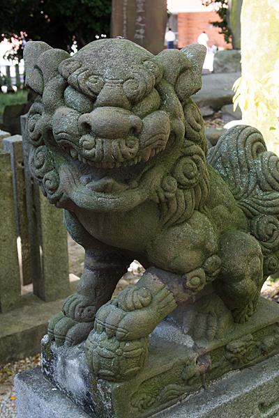 金城六所神社狛犬
