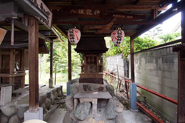 中島八幡社八坂龍神社
