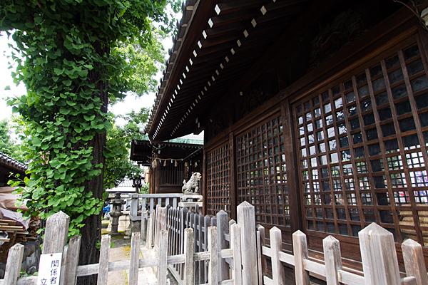 中島八幡社社殿