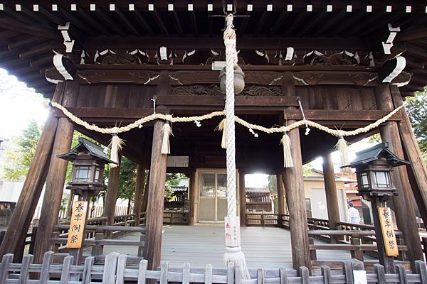 四女子八幡社拝殿