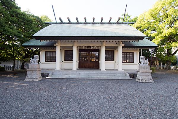 小本神明社拝殿