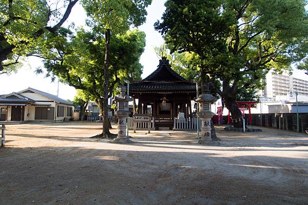 愛知神明社拝殿