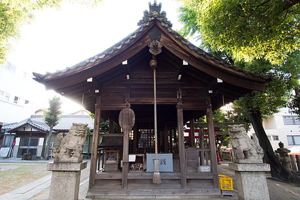 金刀比羅社拝殿
