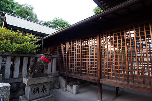 長戸井町金山神社本殿