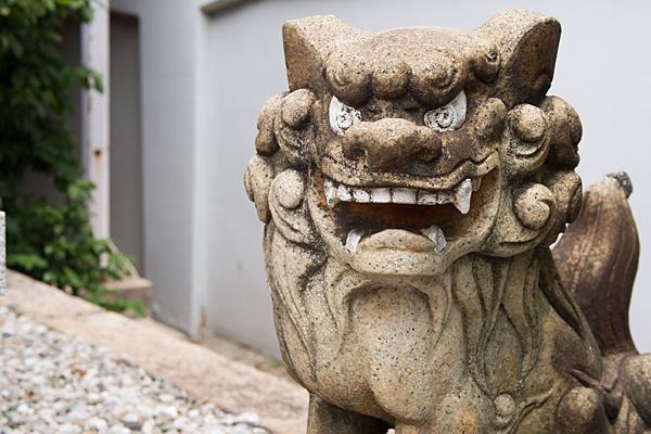 少彦名神社狛犬