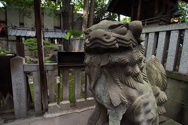 花車神明社獅子