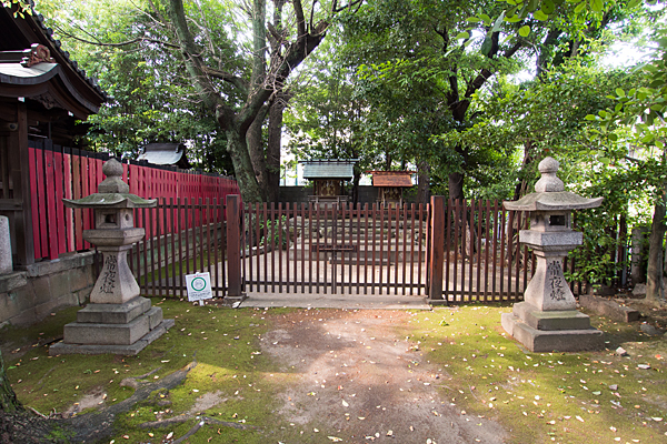 住吉社人丸社と天神社