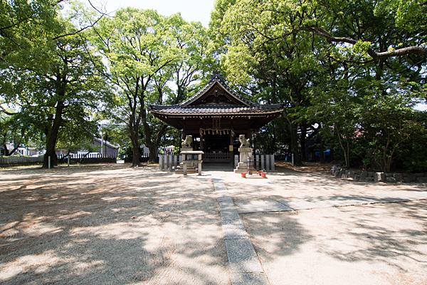 二女子熊野社拝殿
