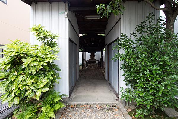 正木秋葉神社参道を進む