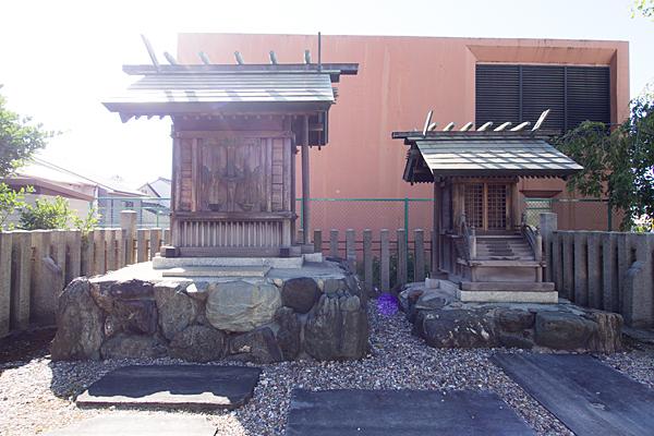 伝馬神明社社殿