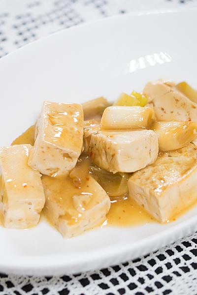 豆腐の甘辛
