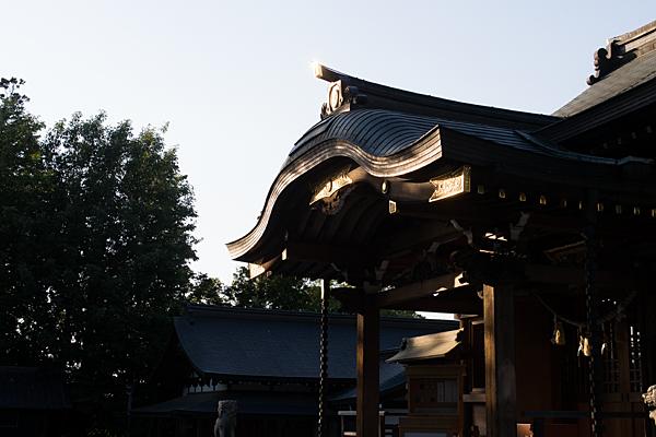 景行天皇社拝殿