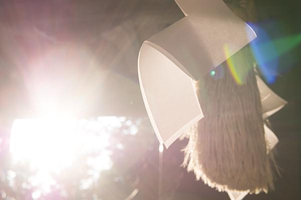 景行天皇社紙垂と太陽