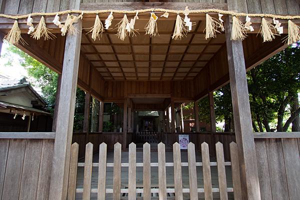 丸屋八幡神社拝殿