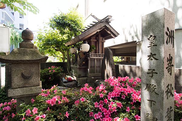 洲嵜秋葉神社境内全景