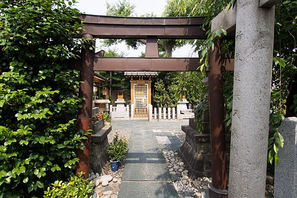 直来神社二の鳥居