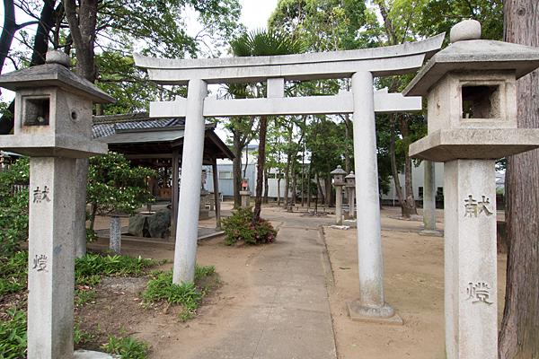 東栄町八幡社西鳥居