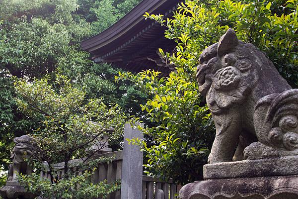 明神社狛犬