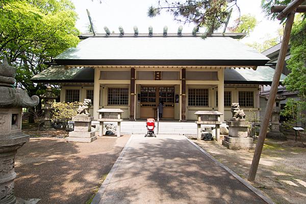 城屋敷神明社拝殿
