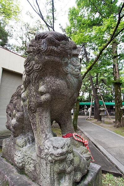 城屋敷神明社狛犬