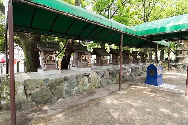 城屋敷神明社末社