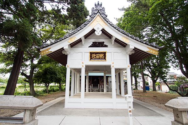 春田熱田社拝殿
