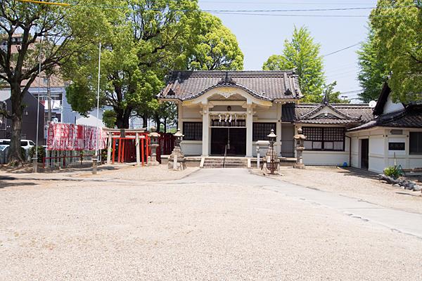 西古渡神社拝殿