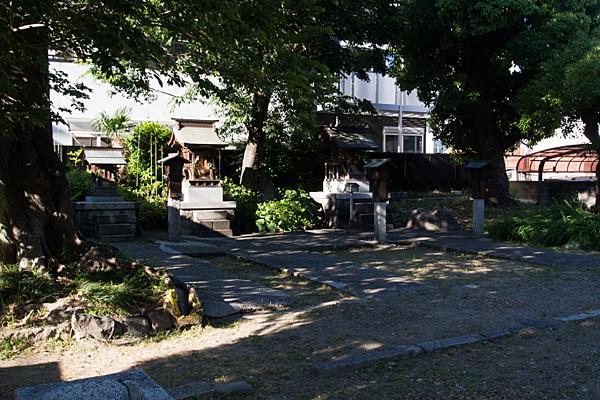 笹社境内の風景