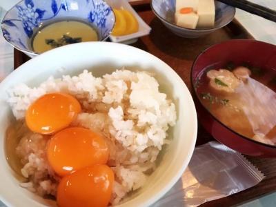 弁天の里 卵かけご飯