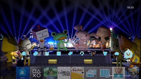 PSプラス テーマ サンダーボルト PS4