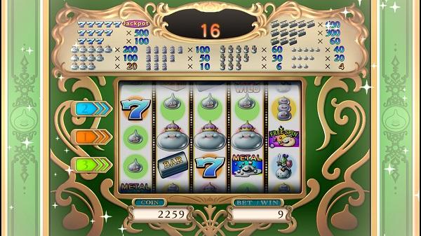 PS4 ドラゴンクエストⅪ ドラクエⅪ プレイ日記 カジノ スロット ジャックポット コインゲット