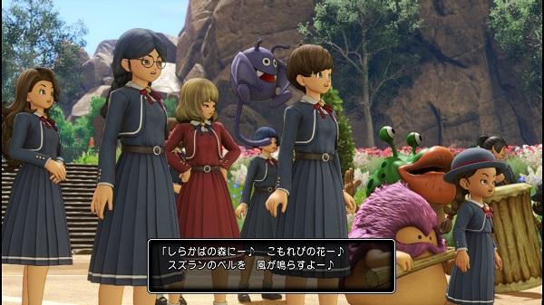 PS4 ドラゴンクエストⅪ ドラクエⅪ プレイ日記 メダル女学院 メダ女の制服