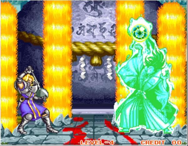PS4 アーケードアーカイブス サムライスピリッツ シャルロット