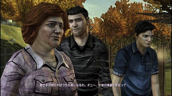 PS4 THE WALKING DEAD SEASON1 シーズン1 プレイ日記 400Days トロフィーコンプ