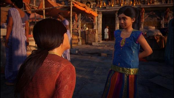 PS4 アンチャーテッド スピンオフ 古代神の秘宝 クロエ・フレイザー クロエ Uncharted