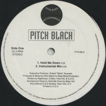 HH_PITCH BLACK_HOLD ME DOWN_201705