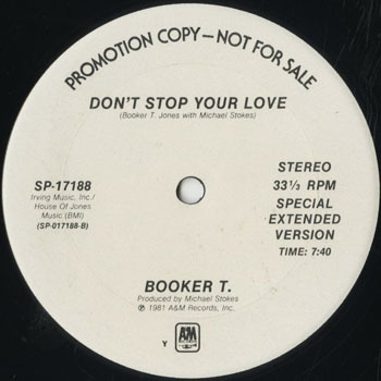 DG_BOOKER T_DONT STOP YOUR LOVE_201705