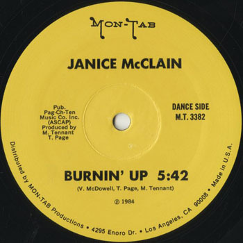 DG_JANICE McCLAIN_BURNIN UP_201705
