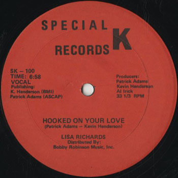 DG_LISA RICHARDS_HOOKED ON YOUR LOVE_201705