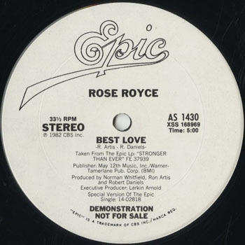 DG_ROSE ROYCE_BEST LOVE_201705